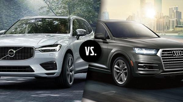 Comparison 2018 Volvo Xc60 Vs 2018 Audi Q5 Capital Volvo