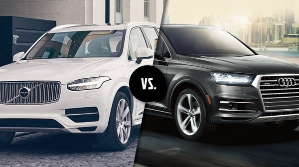 Comparison 2019 Volvo Xc90 Vs 2019 Audi Q7 Capital Volvo