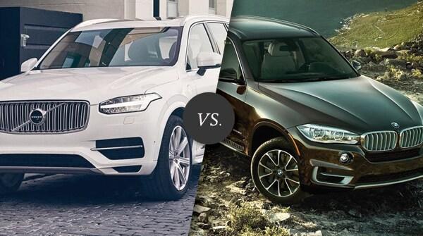 Comparison Volvo Xc90 Vs Bmw X5 Capital Volvo Cars Of Albany