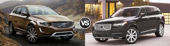 Compare 2017 Volvo Xc60 Vs Volvo Xc90