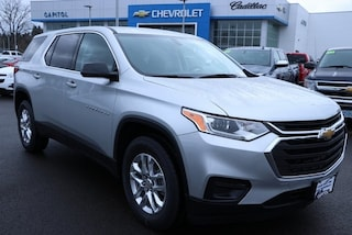 2019 Chevrolet Traverse LS w/1LS SUV 1GNERFKW7KJ199875 in Salem, OR at Capitol Chevrolet