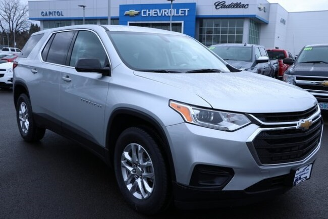 New 2019 Chevrolet Traverse LS w/1LS SUV in Salem, OR