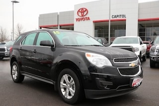 Used 2015 Chevrolet Equinox LS SUV 2GNFLEEK8F6251428 for sale in Salem, OR at Capitol Toyota