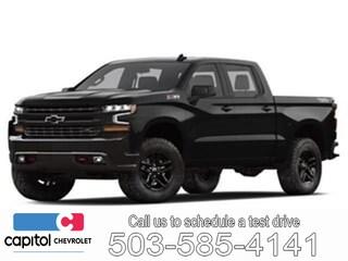 2019 Chevrolet Silverado 1500 Silverado Custom Truck Crew Cab 1GCUYBEF6KZ285997 in Salem, OR at Capitol Chevrolet