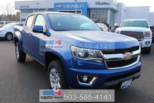 New 2019 Chevrolet Colorado Lt For Sale In Salem Or 1gcgtcen7k1154634