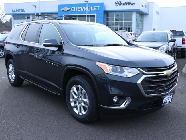 New 2019 Chevrolet Traverse LT Cloth w/1LT SUV in Salem, OR