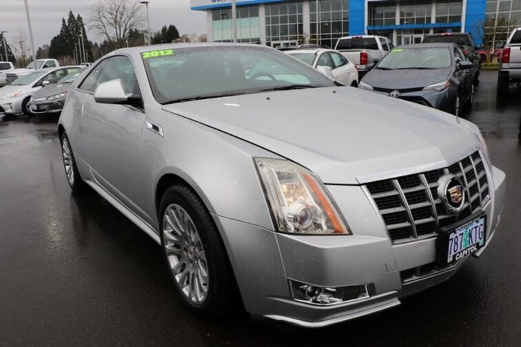 Used 2012 CADILLAC CTS Performance AWD Coupe in Salem OR