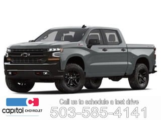 2019 Chevrolet Silverado 1500 Work Truck Truck Crew Cab 3GCPYAEH0KG168294 in Salem, OR at Capitol Chevrolet