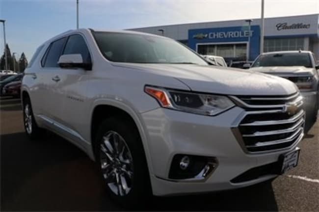 New 2019 Chevrolet Traverse High Country SUV in Salem, OR