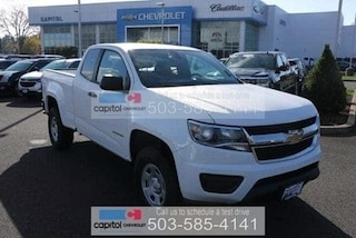 2019 Chevrolet Colorado WT Truck Extended Cab 1GCHSBEA8K1182148 in Salem, OR at Capitol Chevrolet