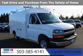2020 Chevrolet Express Cutaway Work Van Truck 1GB0GRFG2L1274873 in Salem, OR at Capitol Chevrolet