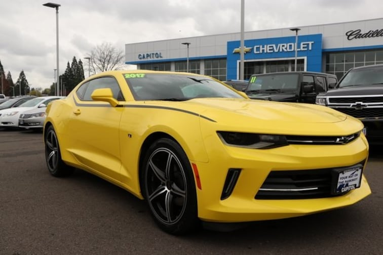 Used 2017 Chevrolet Camaro 2LT Coupe in Salem OR