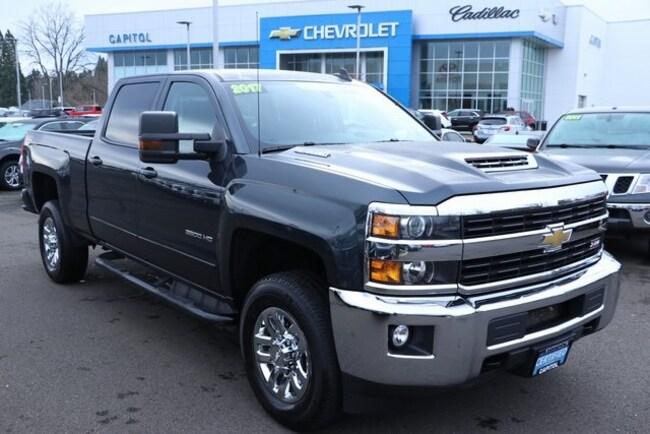 Used 2017 Chevrolet Silverado 3500HD LT Truck Crew Cab For Sale Salem, OR