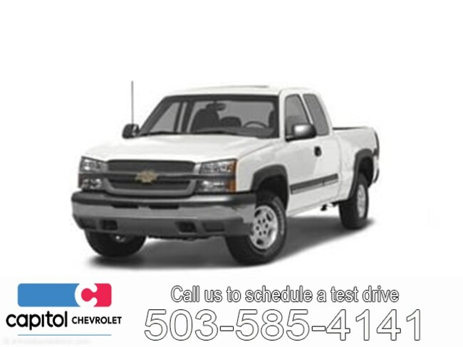 Used 2004 Chevrolet Silverado 1500 Truck Extended Cab For Sale Salem, OR
