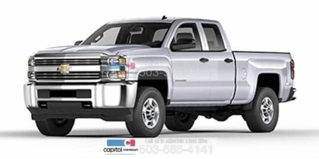 New 2019 Chevrolet Silverado 2500HD WT Truck Double Cab in Salem, OR