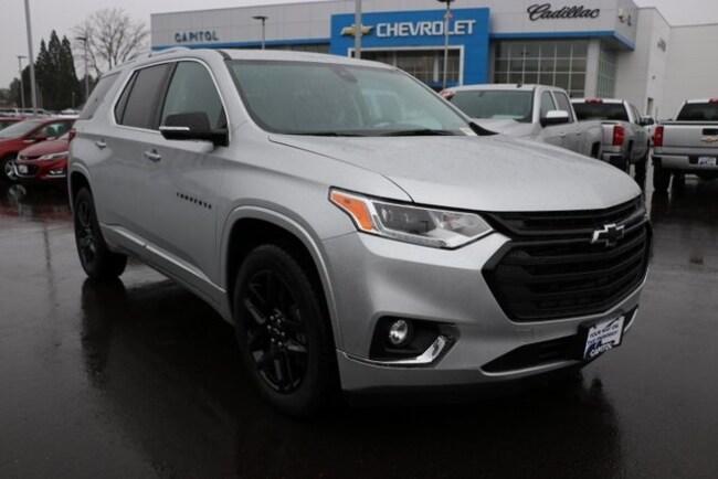 New 2019 Chevrolet Traverse Premier SUV in Salem, OR