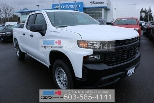 New 2019 Chevrolet Silverado 1500 Work Truck Truck Double Cab in Salem, OR