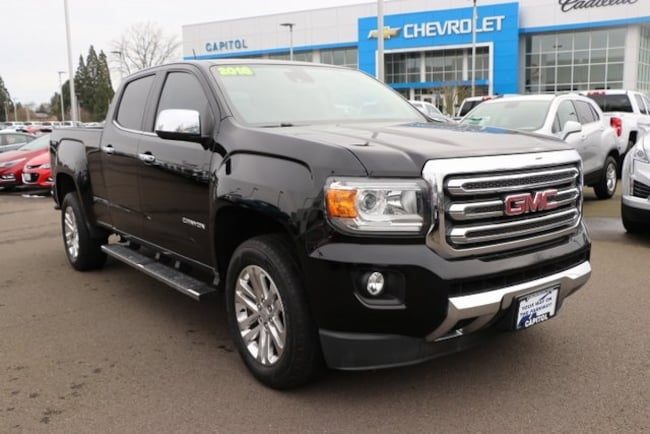 Used 2015 GMC Canyon SLT Truck Crew Cab For Sale Salem, OR