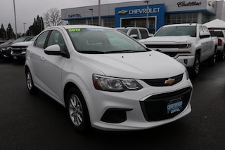 2017 Chevrolet Sonic LT Auto Sedan 1G1JD5SG4H4132398 in Salem, OR at Capitol Chevrolet