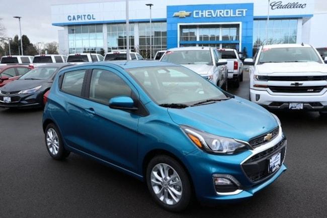 New 2019 Chevrolet Spark Lt W1lt Cvt For Sale In Salem Or
