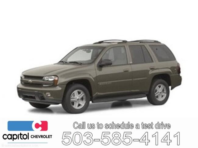 Used 2002 Chevrolet TrailBlazer SUV For Sale Salem, OR