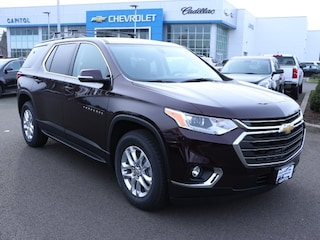 2019 Chevrolet Traverse LT Cloth w/1LT SUV 1GNEVGKW9KJ207914 in Salem, OR at Capitol Chevrolet