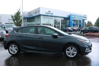 2018 Chevrolet Cruze LT Auto Hatchback 3G1BE6SM7JS650217 in Salem, OR at Capitol Chevrolet
