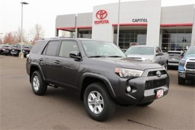New 2019 Toyota 4Runner SR5 SUV JTEBU5JR6K5682505 For Sale/Lease Salem, OR