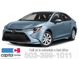New 2020 Toyota Corolla LE Sedan JTDEPRAE9LJ059708 for sale in Salem, OR at Capitol Toyota
