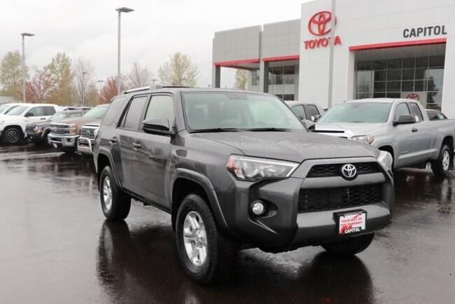 New 2019 Toyota 4Runner SR5 SUV For Sale/Lease Salem, OR