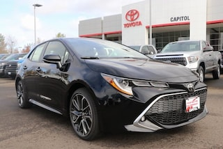 New 2019 Toyota Corolla Hatchback XSE Hatchback for sale in Salem, OR at Capitol Toyota