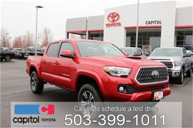 New 2019 Toyota Tacoma TRD Sport Truck Double Cab For Sale/Lease Salem, OR