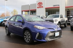 Certified 2018 Toyota Corolla SE Sedan 2T1BURHEXJC113754 for sale in Salem, OR at Capitol Toyota