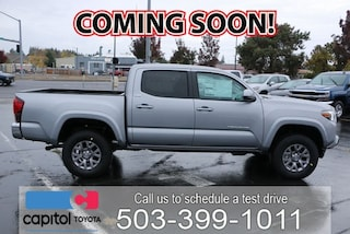 New 2019 Toyota Tacoma SR5 Truck Double Cab 3TMCZ5AN7KM256159 for sale in Salem, OR at Capitol Toyota