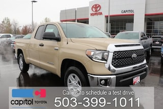 New 2019 Toyota Tundra SR5 Truck Double Cab 5TFUY5F18KX831540 for sale in Salem, OR at Capitol Toyota