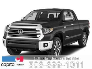 New 2019 Toyota Tundra SR5 Truck Double Cab 5TFUY5F16KX834727 for sale in Salem, OR at Capitol Toyota