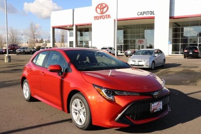 New 2019 Toyota Corolla Hatchback SE Hatchback JTNK4RBE9K3038964 For Sale/Lease Salem, OR