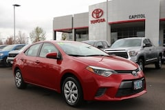 Certified 2016 Toyota Corolla LE Sedan 2T1BURHE2GC619555 for sale in Salem, OR at Capitol Toyota