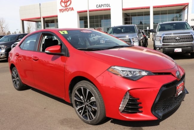 2017 Toyota Corolla XSE Sedan for sale in Salem, OR at Capitol Toyota