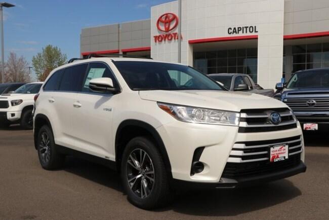 New 2019 Toyota Highlander Hybrid LE SUV For Sale/Lease Salem, OR