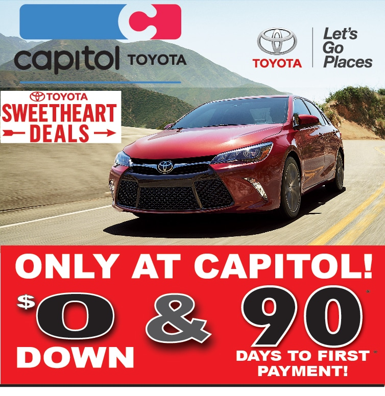 toyota sweetheart deals