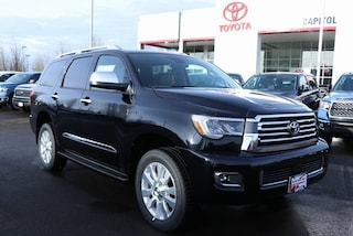 New 2019 Toyota Sequoia Platinum SUV 5TDDY5G16KS168232 for sale in Salem, OR at Capitol Toyota