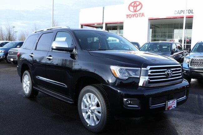 New 2019 Toyota Sequoia Platinum SUV 5TDDY5G16KS168232 For Sale/Lease Salem, OR