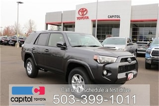 New 2019 Toyota 4Runner SR5 SUV JTEBU5JR0K5685402 for sale in Salem, OR at Capitol Toyota