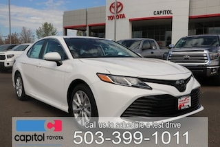 New 2019 Toyota Camry LE Sedan for sale in Salem, OR at Capitol Toyota