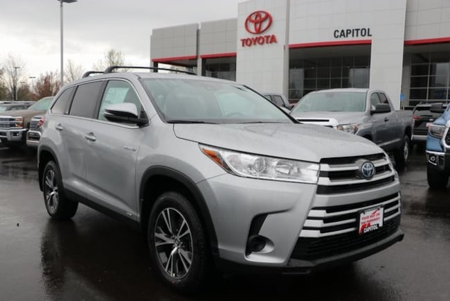 New 2019 Toyota Highlander Hybrid LE SUV For Sale/Lease Salem, OR