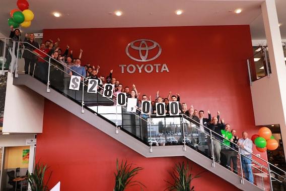 Capitol Toyota Fundraising Toyota Dealer In Salem Serving Wilsonville
