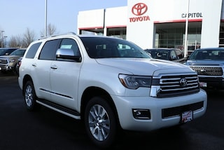 New 2019 Toyota Sequoia Platinum SUV 5TDDY5G17KS168384 for sale in Salem, OR at Capitol Toyota