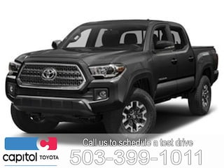 New 2019 Toyota Tacoma TRD Offroad Truck Double Cab 5TFCZ5AN4KX199008 for sale in Salem, OR at Capitol Toyota