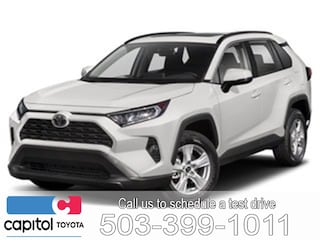 New 2019 Toyota RAV4 LE SUV 2T3F1RFV9KW041997 for sale in Salem, OR at Capitol Toyota